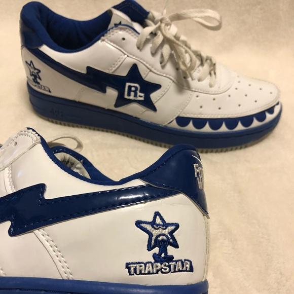 Bape Shoes | Bape Bapesta Trapstars